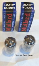 Mullard  PAIR 2x NEW NIB  12AU7 ECC82 Tubes - New