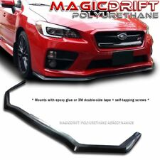 For 15-19 Subaru WRX / STi JDM HD Style Front Bumper Lip Spoiler Polyurethane PU