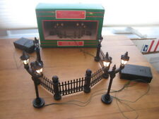CHRISTMAS AROUND THE WORLD BATTERY OPERATED LIGHTED FENCE SET