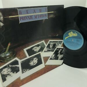 Heart Private Audition Record LP EX
