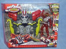Power Rangers Dino cargo Zord Ranger Rojo Armadura Figura Super Megazord Zord Nuevo
