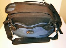 Loewpro- Inverse 200 AW, camera bag color- Blue/Black, hip belt or shoulder belt