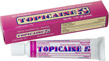 TOPICAINE 5%- Lidocaine Gel (30 grams) Anesthetic Skin Numbing Cream