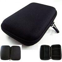 "New 5 inch Black Hard Case Pouch Bag For 5"" GPS Cobra 5550 Garmin nuvi 2450 MP5"