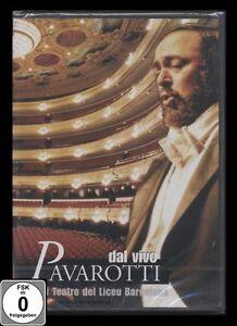 DVD PAVAROTTI - DAL VIVO - 1989 - GRAN TEATRE DEL LICEU BARCELONA *** NEU ***
