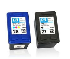 C8728A HP 28 Colore + C8727A HP 27 NERO ORIGINALE
