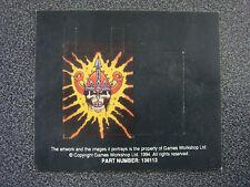 Citadel / Warhammer Undead Standard Banners AA / Vampire Counts / Skeleton