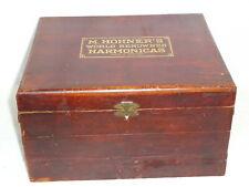 Vintage Hohner Harmonica Store Display Box circa 1910