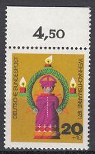 BRD 1971 Mi. Nr. 709 mit Oberrand Postfrisch TOP!!! (27521)