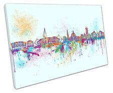 Pintura de Cardiff LONA pared arte Foto Grande 75 X 50 Cm
