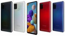 New Samsung Galaxy A21s Dual Sim 2020 4G LTE 32  Smartphone BLACK WHITE RED