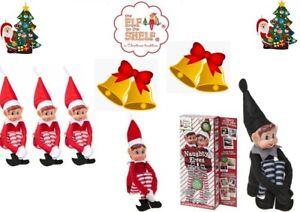 "12"" Elves Behavin' Badly Elf Props Ideas Kit Christmas Family Advent Accessorie"