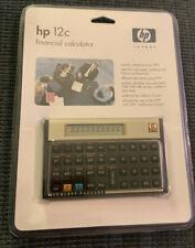 Hewlett Packard HP 12c Financial Calculator New In Package Excellent!