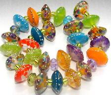 "Sistersbeads ""Firefly"" Handmade Lampwork Beads"