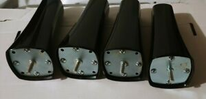Serta Motion Perfect II & III Adjustable Base Tapered Metal Legs (4 Legs)