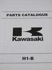 KAWASAKI H1 B parts catalogue 1975 500.