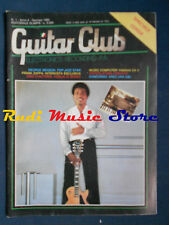 rivista GUITAR CLUB 1/1985 George Benson Frank Zappa   No cd