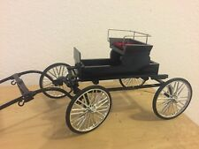 Vintage Style Horse Drawn Hand Crafted Fine Harness Cart Buggy for Breyer Models