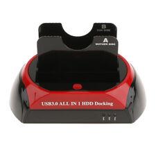 HDD Docking Dual Disque Dur Tout En 1 2.5 '' / 3.5 '' SATA USB 3.0 Dock