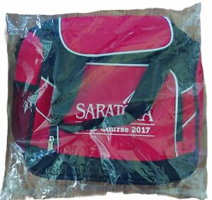2017 NEW Saratoga Race Track / Race Course Cooler Bag - Horse Travers Stakes