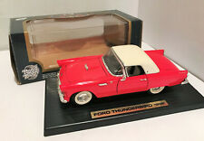 1/18 Diecast Road Tough Red 1955 Ford Thunderbird with Box # 92068