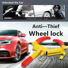 Wheel Lock Clamp Anti-theft Boot For Boat Trailer,Car,SUV,ATV