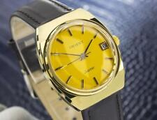 Orient Jupiter SS And Gold Plated Manual Mens Vintage Swiss Watch 1970s Scx143