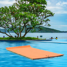 3 Layers Water Mat Floating Water Pad 18 FT Water Sports Recreation Relaxing