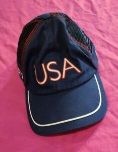 USA Olympic Roots Baseball Style Cap Hat  Medium