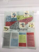 "Vintage 1955 ""Your Guide to Disneyland"" Brochure (BOA) with Map of Disneyland et"