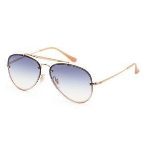 Ray-Ban Unisex RB3584N-001-1958 Blaze 58mm Gold Sunglasses