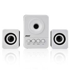 SADA USB Wired Speaker Stereo Bass Music Player Subwoofer Loudspeaker Laptop CS