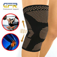 Copper Knee Compression Sleeve Joint Pain Arthritis Relief Pad for Men Women CFR