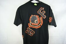 HUF SF Giants Baseball  Large Mens Shirt Free Shipping Black  XL NEW!