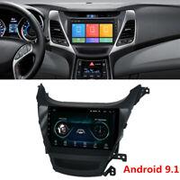 For Hyundai Elantra 2014-2016 9'' Android 9.1 Car Stereo Radio GPS WIFI 2GB+32GB