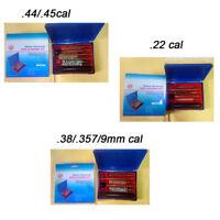 Gun Cleaning Brush Kit .22/.45/.357 Caliber Brush with Rod Plastic Storage Case
