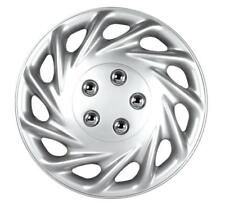 """QUALITY 13"""" GEARX WHEEL COVERS SILVER CONTIA SET OF 4"""