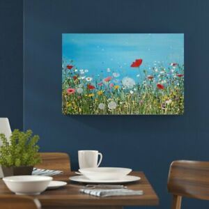Artvue Wishes on the Breeze Wrapped Canvas by Hayley Jones, 41H x 62W x 5D cm