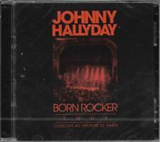 CD + DVD 15 TITRES JOHNNY HALLYDAY BORN ROCKER TOUR PARIS BERCY NEUF SCELLE