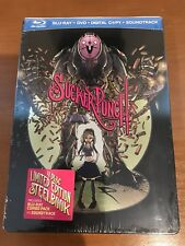 Sucker Punch (Blu-ray+DVD+Digital+CD2011) NEW Factory Sealed Comic Con Steelbook