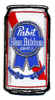 PBR pabst blue ribbon patch badge can beer brewery jacket vest retro rockabilly