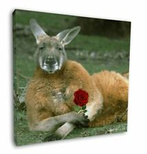 More details for kangaroo with red rose 12
