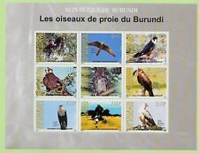 BURUNDI Sc 801a NH MINISHEET of 2009 - BIRDS