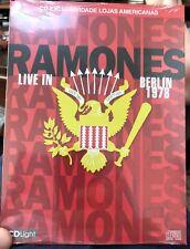 Ramones Live 1978 Sex Pistols  CD Live Concert Foo Fighters Clash Green Day