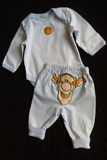 Baby clothes BOY newborn 0-1m Disney Tigger outfit LS bodysuit top cute  trousers 0b85f598f659