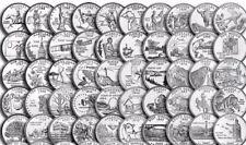 1999-2008 50 STATES Statehood QUARTERS Set of 50 coins