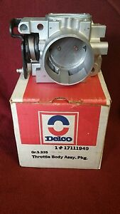 NEW ACDelco Throttle Body Carburetor Assembly Buick Oldsmobile Pontiac 88 89
