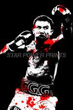"""Gennady Golovkin """"Ggg"""" arte cartel impresión fotográfica - 12 X 8 Pulgadas-Triple G -"""