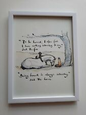 CHARLIE MACKESY FRAMED BOOK EXTRACT. TGE BOY, THE MOLE, THE FOX AND THE HORSE.