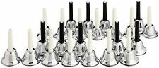 Hand Bell 23sound set MB-23 K/S Silver KC-musicbell F/S New Japan w/Tracking#